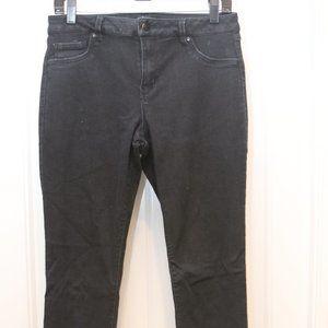 D.Jeans Black Stretchy Skinny Jeans